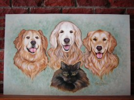 Jacilines dogs and cat