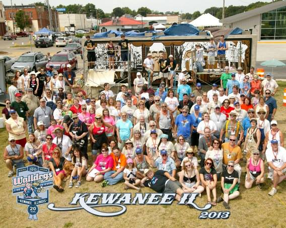 2012 Signpainters / MuraIists came from all over the world to participate in painting 15 murals in Kewanee Il. What fun it was to meet all these interesting personalities and talent !