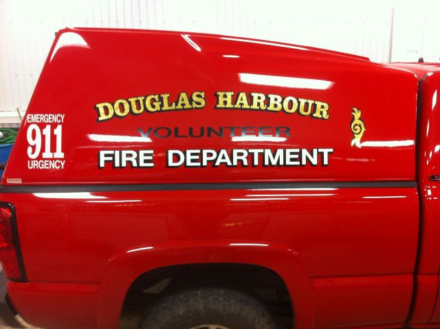 dOUGLAS HARBOUR FIRE DEPT TRUCKBOX