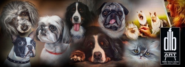 Pet Portraits by Debb Ferris Bates